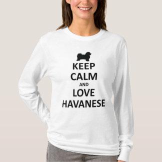 keep calm and havanese.jpg T-Shirt