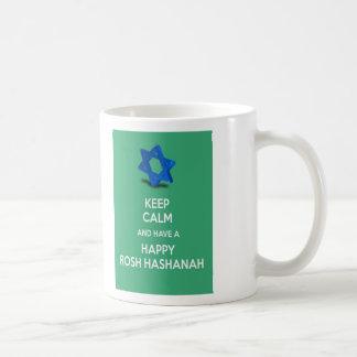 Keep calm and have a Happy Rosh Hashanah Coffee Mug