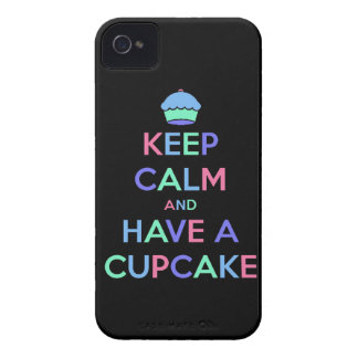 keep calm and have cupcake bake bakery pastry food iPhone 4 Case-Mate case