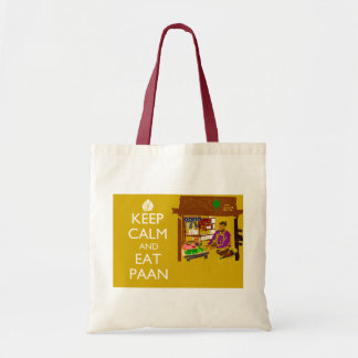 Keep Calm and Have Paan Tote Bag