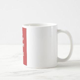 Keep Calm and Hike On Classic White Coffee Mug