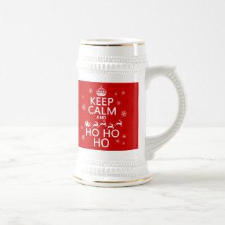 Keep Calm and Ho Ho Ho - Christmas/Santa Coffee Mug