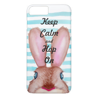 Keep Calm and Hop On iPhone 7 Plus Case