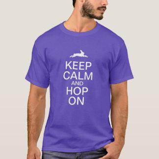 KEEP CALM and HOP ON T-Shirt