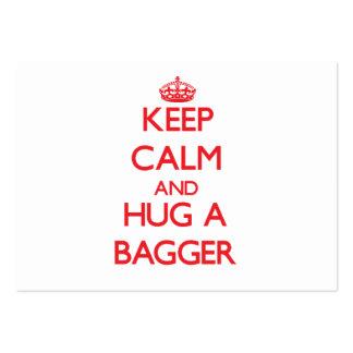 Keep Calm and Hug a Bagger Business Card