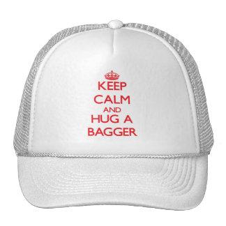 Keep Calm and Hug a Bagger Trucker Hat