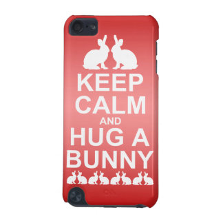 Keep Calm and Hug a Bunny iPod Touch Case(Pink) iPod Touch 5G Cover