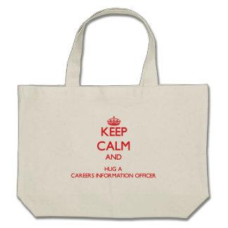 Keep Calm and Hug a Careers Information Officer Bag