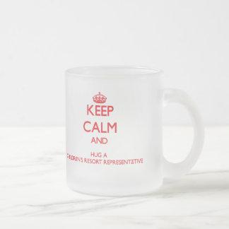 Keep Calm and Hug a Children s Resort Representati Mug