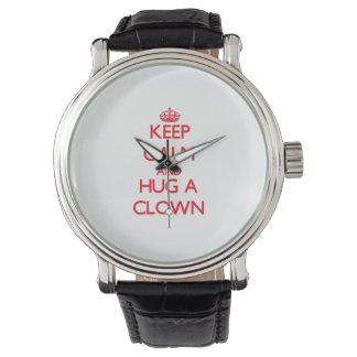 Keep Calm and Hug a Clown Watch