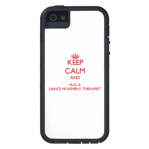 Keep Calm and Hug a Dance Movement Therapist iPhone 5 Cover