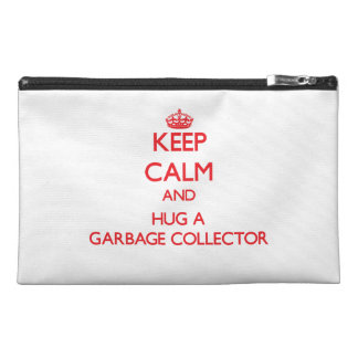 Keep Calm and Hug a Garbage Collector Travel Accessories Bag