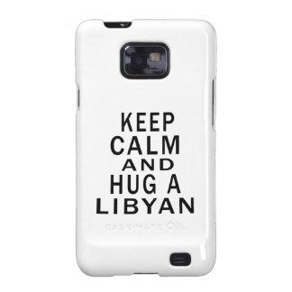 Keep Calm And Hug A Libyan Galaxy S2 Cover