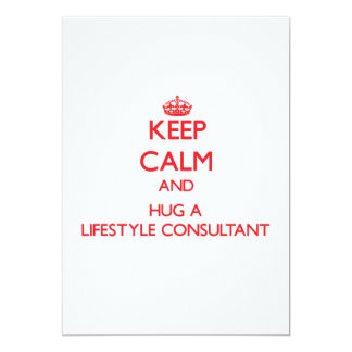 Keep Calm and Hug a Lifestyle Consultant Announcements