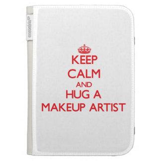 Keep Calm and Hug a Makeup Artist Kindle Covers