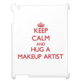 Keep Calm and Hug a Makeup Artist Cover For The iPad