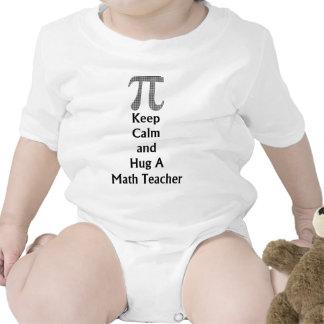 Keep Calm and Hug a Math Teacher.png Tshirt