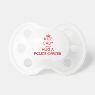 Keep Calm and Hug a Police Officer Dummy