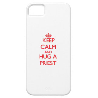 Keep Calm and Hug a Priest iPhone 5/5S Covers