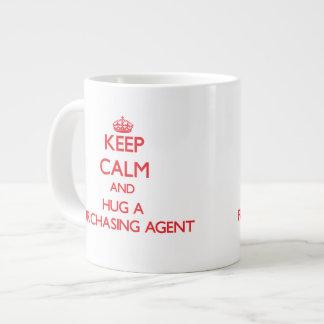 Keep Calm and Hug a Purchasing Agent Jumbo Mugs