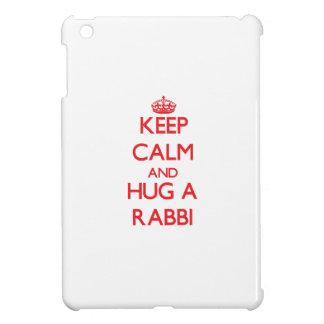 Keep Calm and Hug a Rabbi iPad Mini Cases