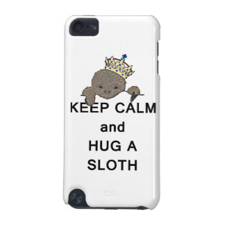 Keep Calm and Hug a Sloth Meme iPod Touch 5G Covers