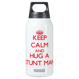 Keep Calm and Hug a Stunt Man 0.3 Litre Insulated SIGG Thermos Water Bottle