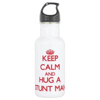 Keep Calm and Hug a Stunt Man 532 Ml Water Bottle