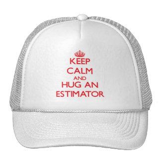 Keep Calm and Hug an Estimator Mesh Hat