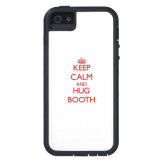 Keep calm and Hug Booth iPhone 5 Covers