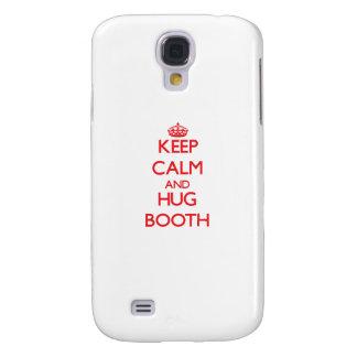 Keep calm and Hug Booth Galaxy S4 Cover