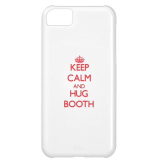 Keep calm and Hug Booth iPhone 5C Cover
