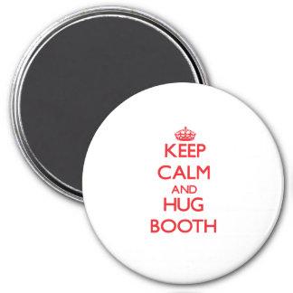 Keep calm and Hug Booth Fridge Magnet