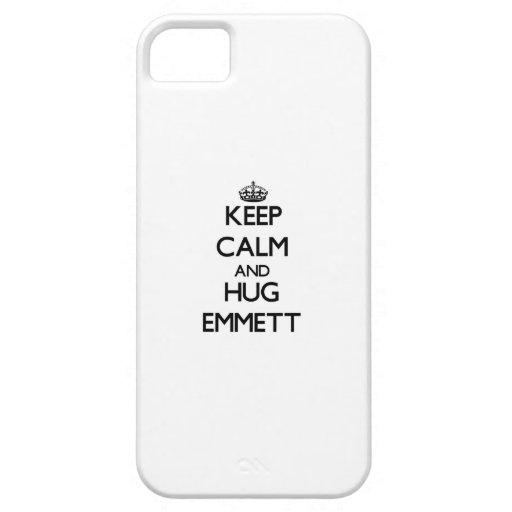 Keep Calm and Hug Emmett iPhone 5 Case