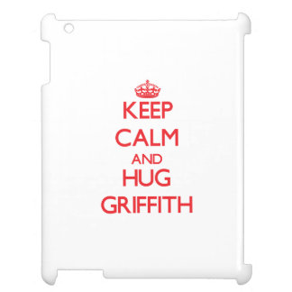 Keep calm and Hug Griffith Cover For The iPad