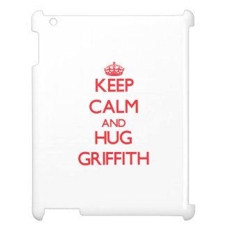 Keep calm and Hug Griffith Case For The iPad 2 3 4