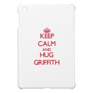 Keep calm and Hug Griffith iPad Mini Cases
