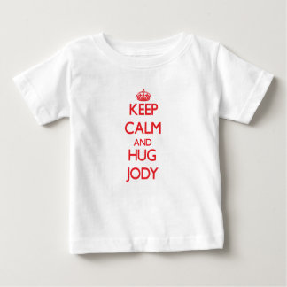 Keep Calm and HUG Jody Tshirts