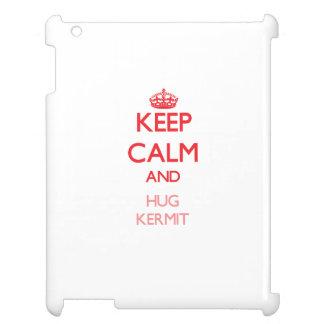 Keep Calm and HUG Kermit iPad Covers