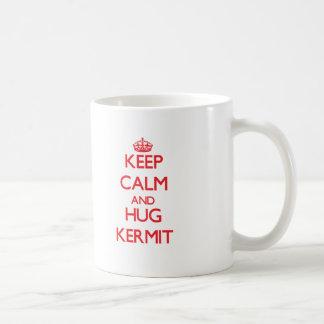 Keep Calm and HUG Kermit Mug