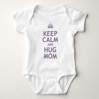 Keep Calm and Hug Mom Tshirt