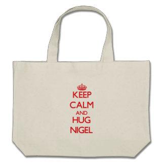 Keep Calm and HUG Nigel Bag