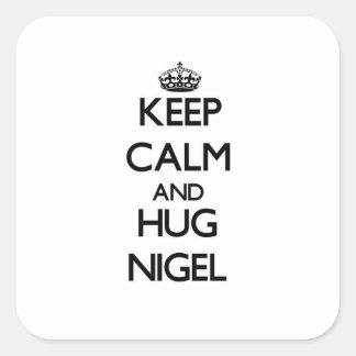 Keep Calm and Hug Nigel Sticker