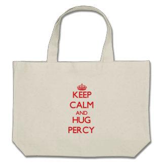 Keep Calm and HUG Percy Tote Bag