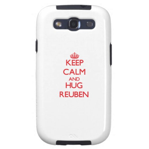 Keep Calm and HUG Reuben Samsung Galaxy S3 Case