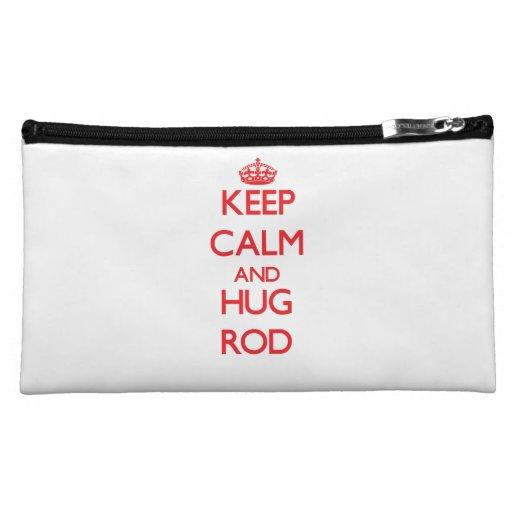 Keep Calm and HUG Rod Makeup Bag