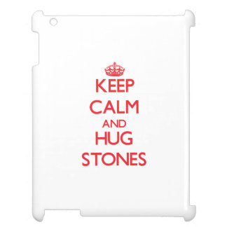 Keep calm and Hug Stones Cover For The iPad 2 3 4