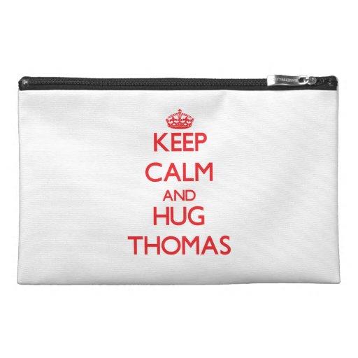 Keep calm and Hug Thomas Travel Accessory Bag