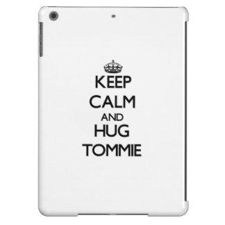 Keep Calm and Hug Tommie iPad Air Covers