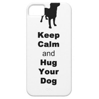Keep Calm and Hug Your Dog Case For The iPhone 5
